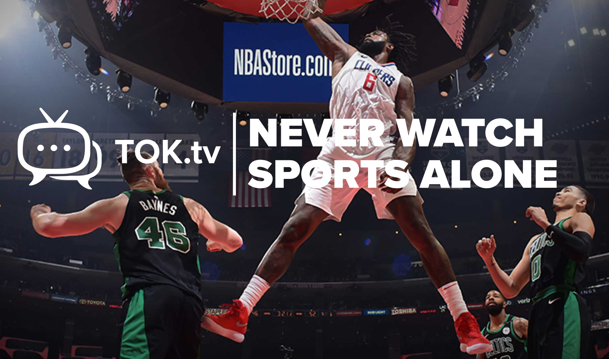 TOK.tv powers LA Clippers official app